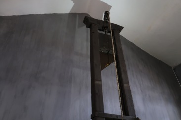 French Guillotine used for executing prisoners