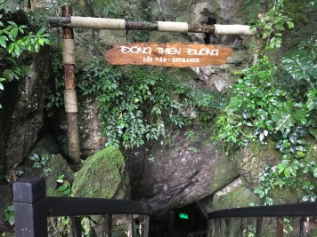 Entrance to Paradise Cave